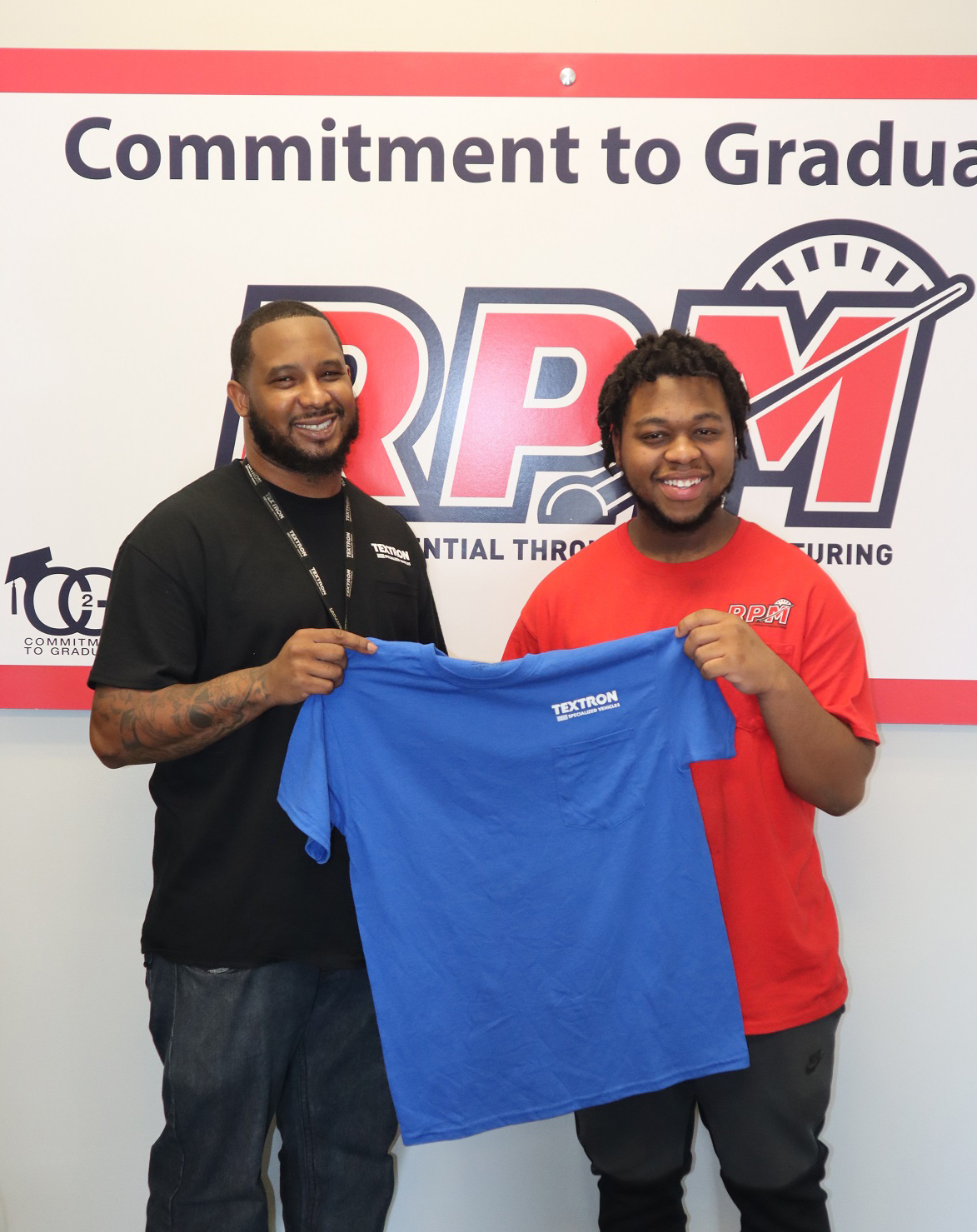 RPM Holds Spring Blue Shirt Ceremony | Textron